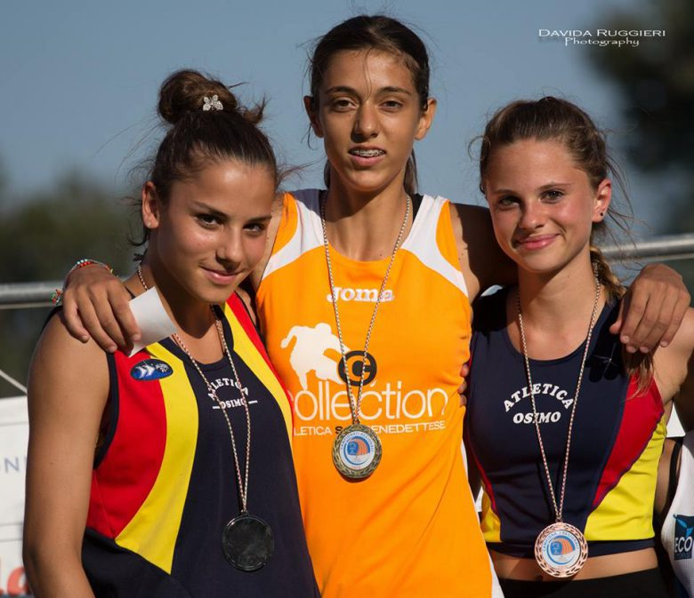 Emma Silvestri oro nei 200 ostacoli