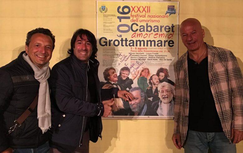 Giovanni Cacioppo saluta il festival amoremio 2016