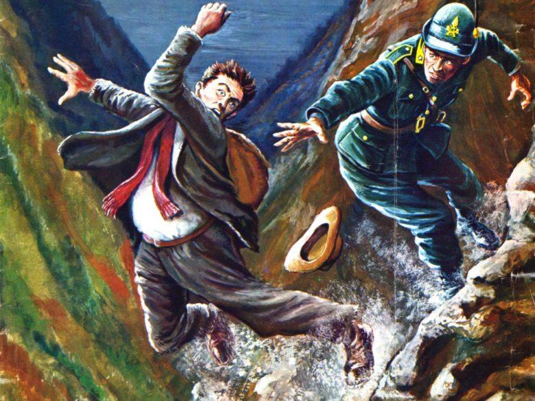 Rievocazione dell'episodio (foto Gdf Ascoli Piceno)