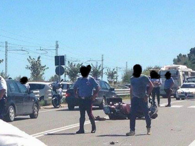 Incidente a Cupra, 13 agosto (foto di Gian Marco Marconi)