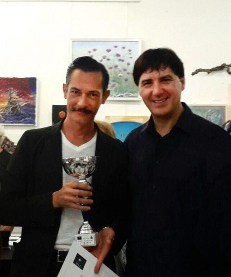 Mirko Amaolo con Giorgio Grasso