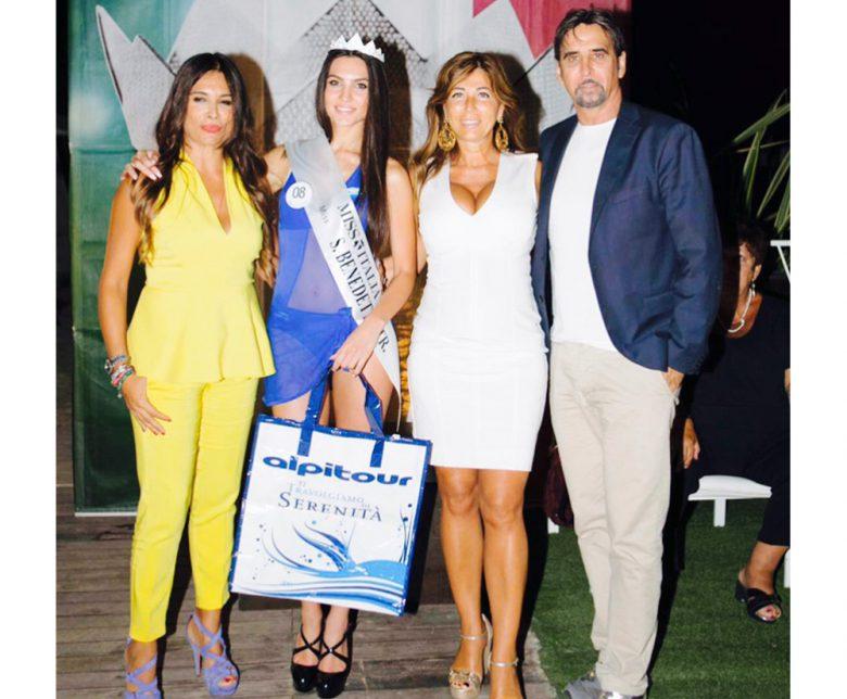 La neo eletta tra Angela Velenosi, Alessandra Borgia e il 'patron' Sandro Assenti