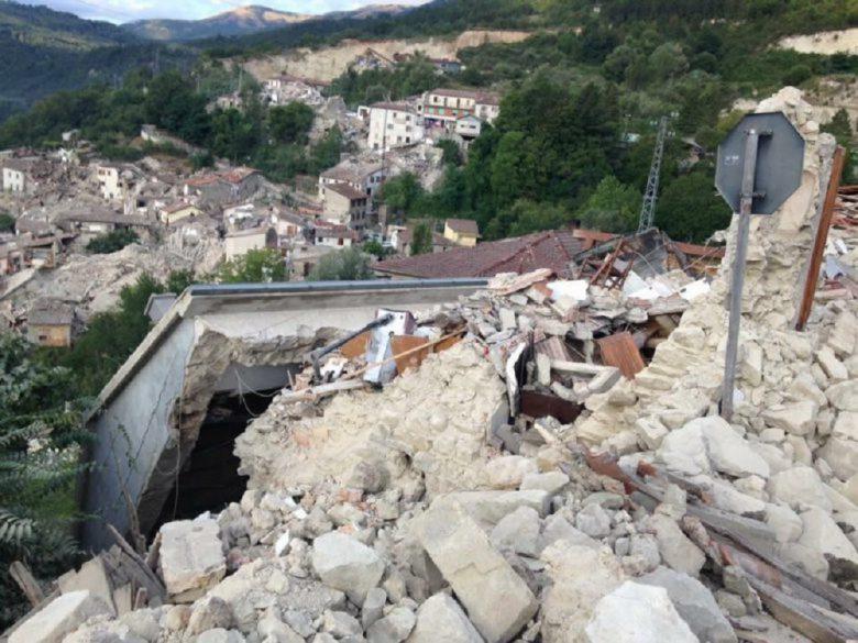 Terremoto 24 agosto Pescara del Tronto rasa al suolo
