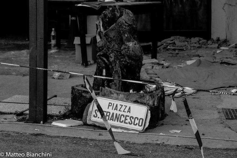 Accumoli, piazza San Francesco