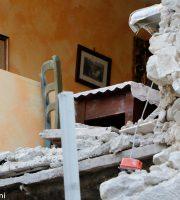 Accumoli, case sventrate dal  terremoto