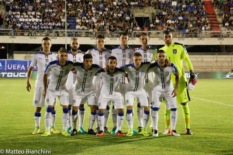 Italia-Albania U21, formazione titolare