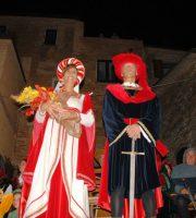 Barone e baronessa a Tortoreto