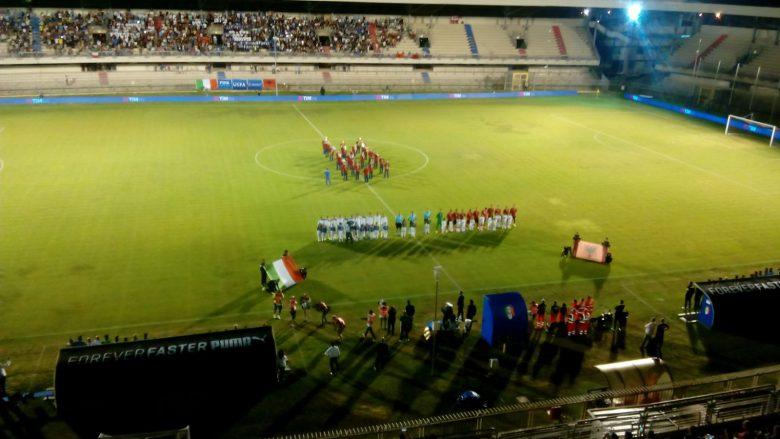 Italia-Albania, gli inni