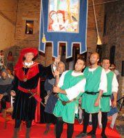 Drappo della vittoria a Tortoreto