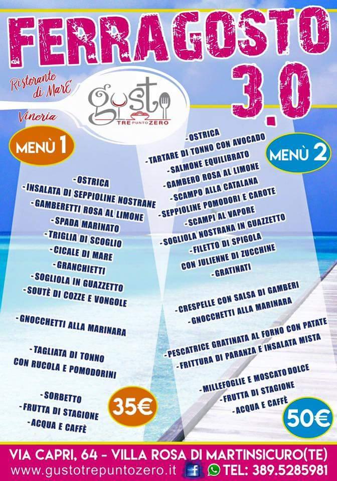Pranzo Di Pesce Per Un Ferragosto 30 Riviera Oggi