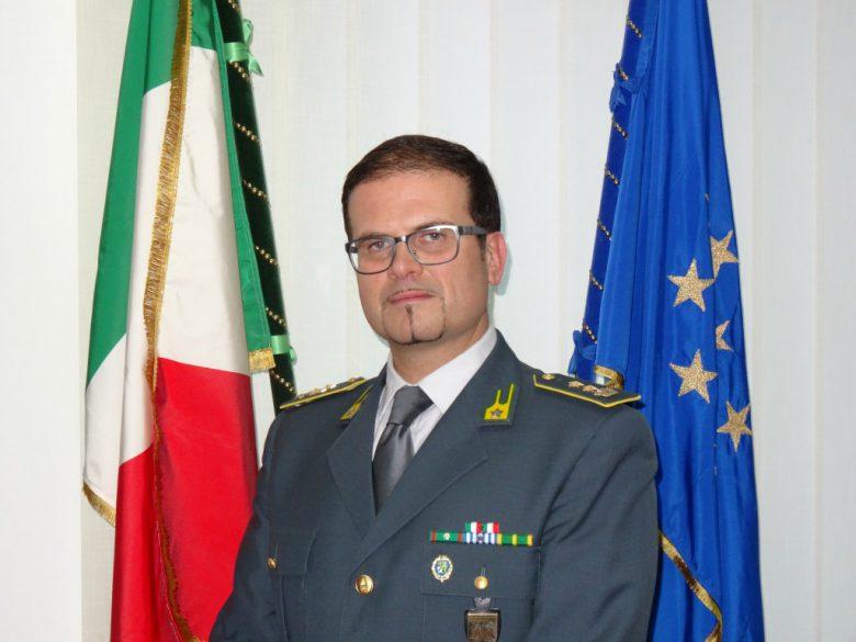 Tenente Colonnello Melasecca (foto Gdf Teramo)
