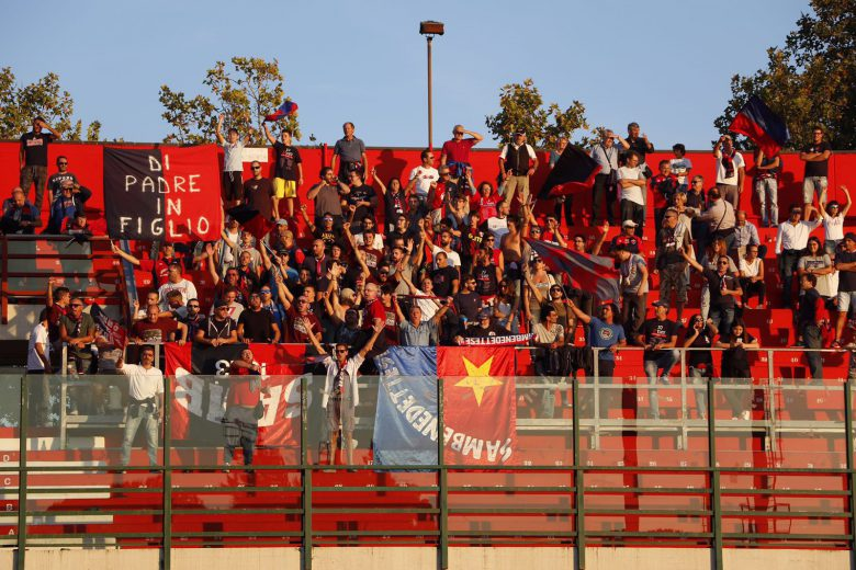I tifosi della Samb a Forlì