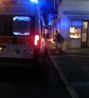 Ambulanza in via Montebello, 7 settembre