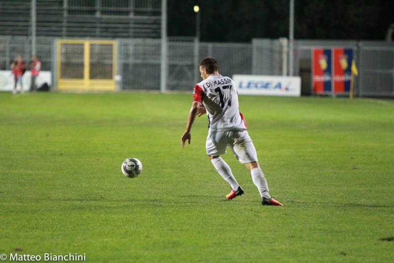 Gubbio-Samb 1-3, Di Massimo in azione