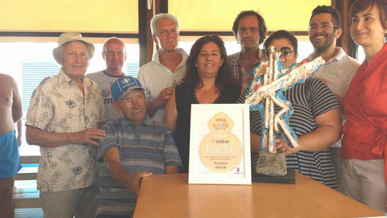Bagni Nik vince il concorso Vota la tua estate (foto tratta dalla pagina Fb Città di San Benedetto del Tronto)