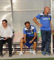 Ottavio Palladini in oanchina a Macerata (foto Bianchini)
