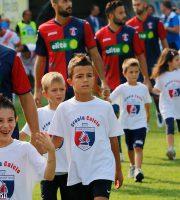 Samb-Mantova 1-3, ingresso in campo