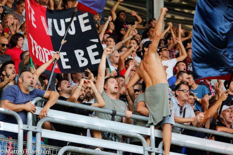 Samb-Mantova 1-3, tifosi
