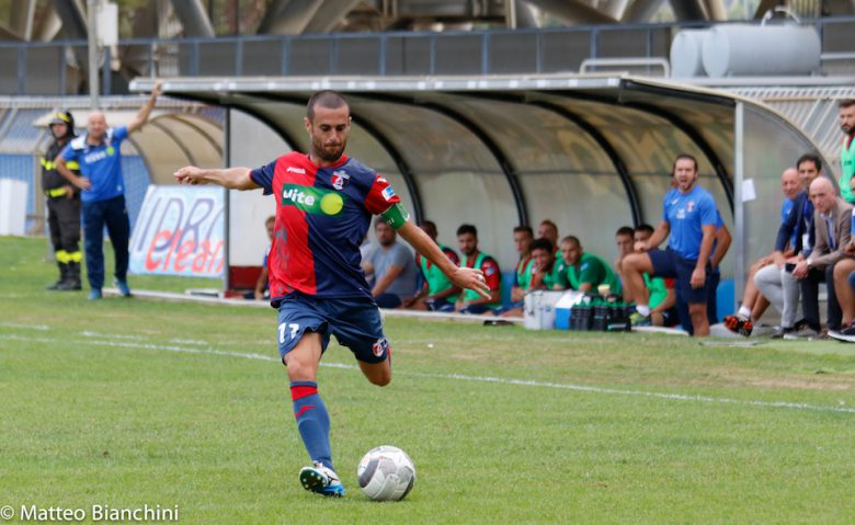 Samb-Fano 1-0, capitan Pezzotti