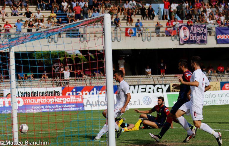 Samb-Fano 1-0, il gol di Mancuso