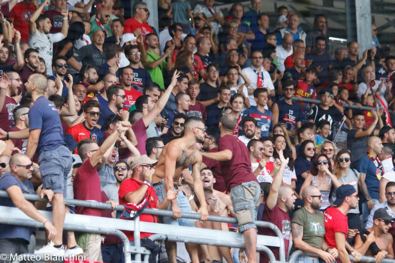 Samb-Fano 1-0, tifosi