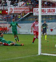 Forlì-Samb 0-1, il gol di Mancuso