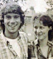 Stefano e Chantal Borgonovo da giovani