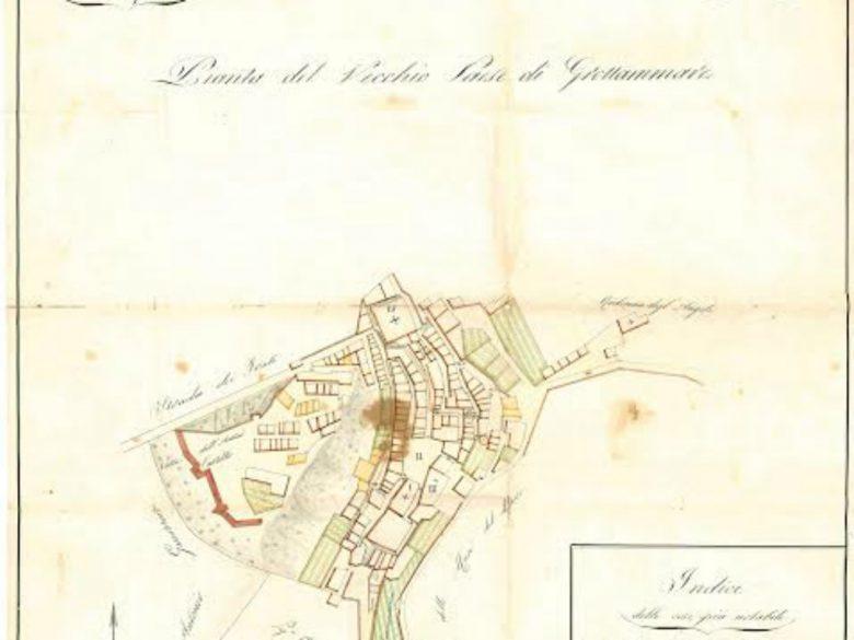 Mappa ritrovata a Grottammare