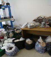 Droga sequestrata (foto Gdf Rimini)