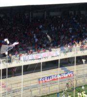 Samb-Parma, la curva Nord inizia a riempirsi