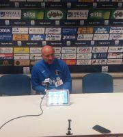 Ottavio Palladini in conferenza stampa