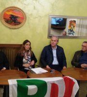 I quattro consiglieri del Pd all'avvio della campagna d'ascolto con i quartieri
