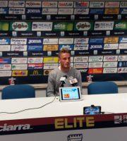 Christian Tavanti in conferenza stampa