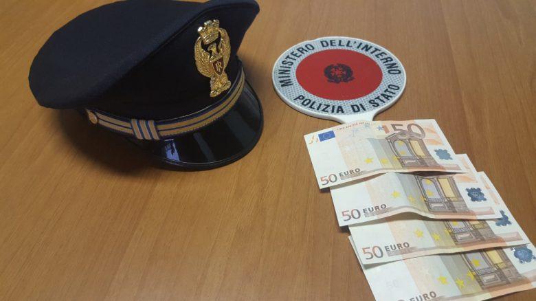 Banconote false (foto Commissariato di San Benedetto)