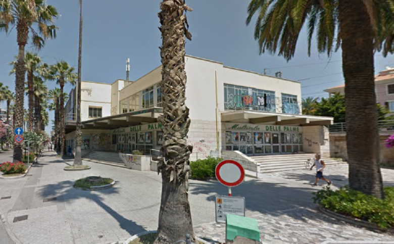 Ex Cinema delle Palme in via Gramsci