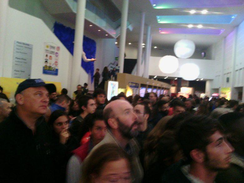 Folla al Palariviera, 12 ottobre (foto di Leonardo delle Noci)