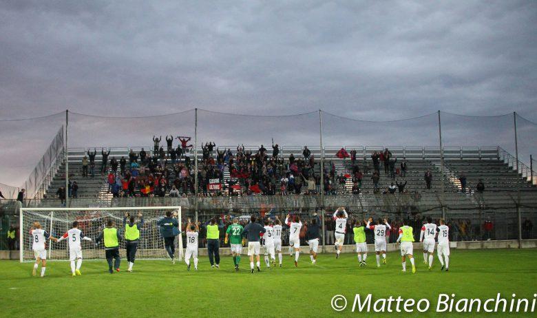 Venezia-Samb 2-2, saluto finale