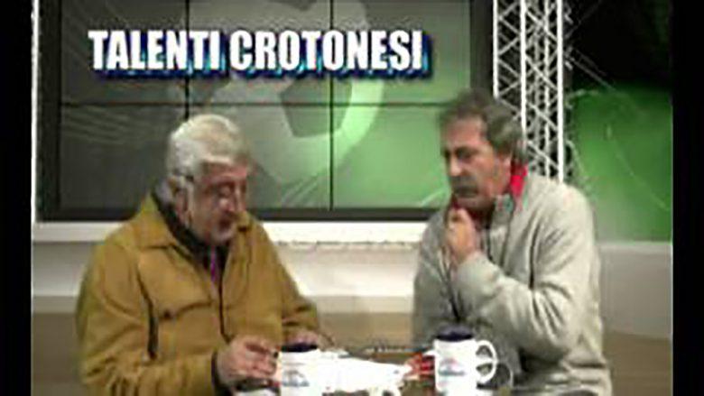 """Luigi Sanzone durante la trasmissione tv """"Talenti Crotonesi"""""""