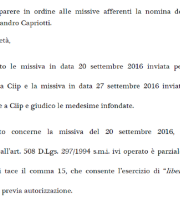 "Avvocati: ""Presunta incompatibilità infondata"""