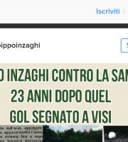 Inzaghi su Instagram