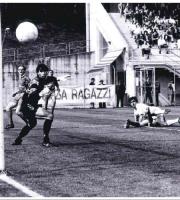 Un gol di Inzaghi con la maglia del Leffe