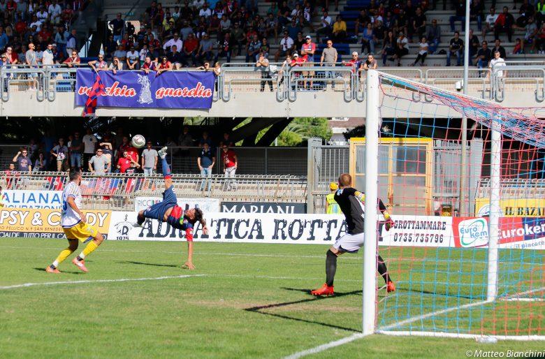 Samb-Parma, l'azione del vantaggio rosspblu