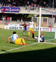 Samb-Parma, il gol di Mancuso