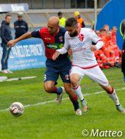 Samb-Padova 2-0, Sabatino lotta