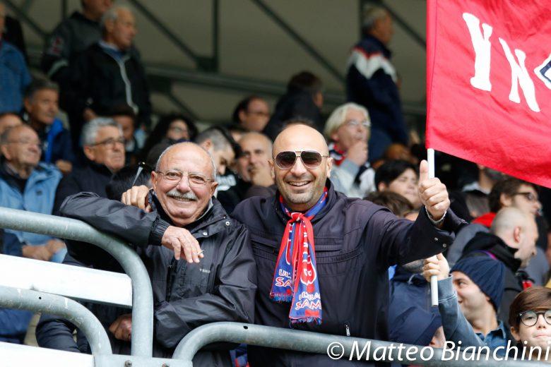 Samb-Padova 2-0, tifosi rossoblu