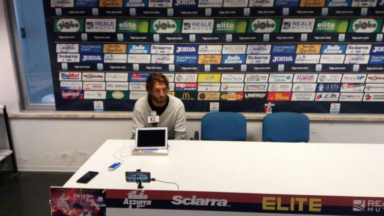 Leonardo Mancuso in conferenza stampa