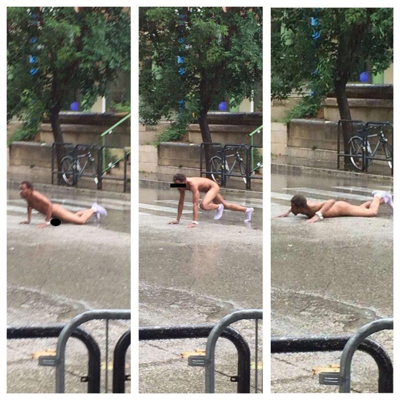 Alba Adriatica, in giro nudo per la città: fermato
