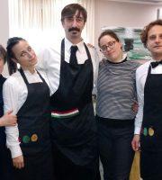 La Chef Ermetina Mira e il suo staff