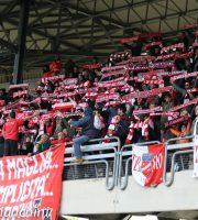 Samb-Teramo 2-0, sciarpata dei tifosi del Teramo