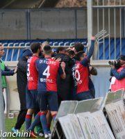 Samb-Teramo 2-0, i rossoblu esultano